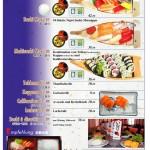 Sashimi, Sushi